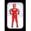 Power Ranger Muscle Red Child 4-6